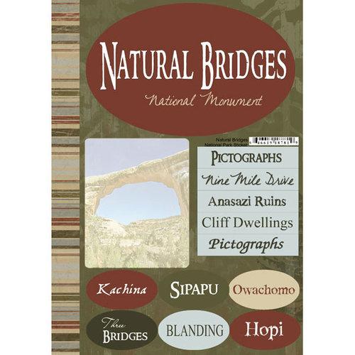 Scrapbook Customs - United States Collection - Utah - National Park - Cardstock Stickers - Natural Bridges