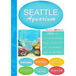 Scrapbook Customs - United States Collection - Washington - Cardstock Stickers - Seattle Aquarium