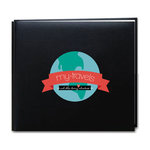 Scrapbook Customs - 12 x 12 Album Kit - Travel Adventure - Black