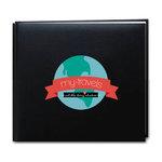Scrapbook Customs - 12 x 12 Album Kit - Travel Adventure - Black