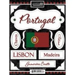 Scrapbook Customs - World Collection - Portugal - Cardstock Stickers - Discover