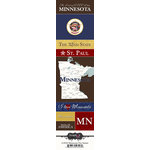 Scrapbook Customs - United States Collection - Minnesota - Cardstock Stickers - Chic