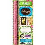 Scrapbook Customs - World Collection - USA - Hawaii - Cardstock Stickers - Maui - Paradise
