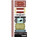 Scrapbook Customs - World Collection - Austria - Cardstock Stickers - Explore
