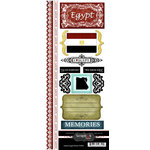 Scrapbook Customs - World Collection - Egypt - Cardstock Stickers - Explore
