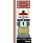 Scrapbook Customs - World Collection - Gibraltar - Cardstock Stickers - Explore