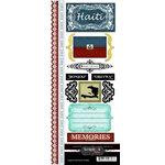 Scrapbook Customs - World Collection - Haiti - Cardstock Stickers - Explore