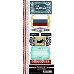 Scrapbook Customs - World Collection - Russia - Cardstock Stickers - Explore