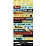 Scrapbook Customs - World Collection - Egypt - Cardstock Stickers - Explore - Cairo