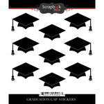 Scrapbook Customs - Graduation Collection - Cardstock Stickers - Graduation Cap Repeats