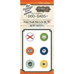 Scrapbook Customs - Vintage Label Collection - Vintage Doo Dads - Self Adhesive Metal Badges - Alabama