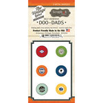 Scrapbook Customs - Vintage Label Collection - Vintage Doo Dads - Self Adhesive Metal Badges - Arkansas