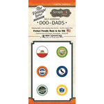 Scrapbook Customs - Vintage Label Collection - Vintage Doo Dads - Self Adhesive Metal Badges - California
