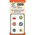 Scrapbook Customs - Vintage Label Collection - Vintage Doo Dads - Self Adhesive Metal Badges - California