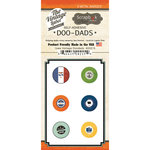 Scrapbook Customs - Vintage Label Collection - Vintage Doo Dads - Self Adhesive Metal Badges - Iowa