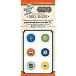 Scrapbook Customs - Vintage Label Collection - Vintage Doo Dads - Self Adhesive Metal Badges - Montana