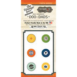 Scrapbook Customs - Vintage Label Collection - Vintage Doo Dads - Self Adhesive Metal Badges - New Mexico
