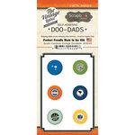 Scrapbook Customs - Vintage Label Collection - Vintage Doo Dads - Self Adhesive Metal Badges - South Carolina