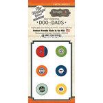 Scrapbook Customs - Vintage Label Collection - Vintage Doo Dads - Self Adhesive Metal Badges - Tennessee