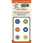 Scrapbook Customs - Vintage Label Collection - Vintage Doo Dads - Self Adhesive Metal Badges - Vermont
