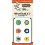 Scrapbook Customs - Vintage Label Collection - Vintage Doo Dads - Self Adhesive Metal Badges - Washington