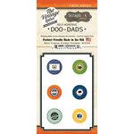 Scrapbook Customs - Vintage Label Collection - Vintage Doo Dads - Self Adhesive Metal Badges - West Virginia