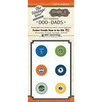 Scrapbook Customs - Vintage Label Collection - Vintage Doo Dads - Self Adhesive Metal Badges - Wisconsin