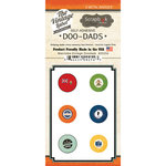 Scrapbook Customs - Vintage Label Collection - Vintage Doo Dads - Self Adhesive Metal Badges - Manitoba