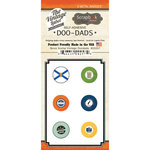Scrapbook Customs - Vintage Label Collection - Vintage Doo Dads - Self Adhesive Metal Badges - Nova Scotia