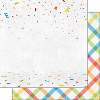 Scrapbook Customs - Retirement Collection - 12 x 12 Double Sided Paper - Happy Retirement Companion