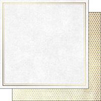 Scrapbook Customs - Retirement Collection - 12 x 12 Double Sided Paper - Script Companion