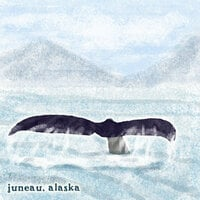 Scrapbook Customs - United States Collection - Alaska - 12 x 12 Paper - Juneau