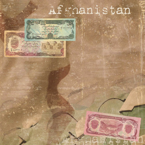 Scrapbook Customs - World Collection - Afghanistan - 12 x 12 Paper - Afghanistan