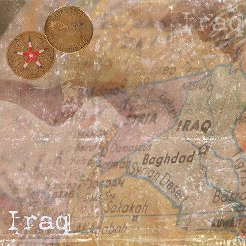 Scrapbook Customs - World Collection - Iraq - 12 x 12 Paper