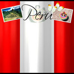 Scrapbook Customs - World Collection - Peru - 12 x 12 Paper