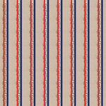 Scrapbook Customs - Military Collection - 12 x 12 Paper - Coast Guard Stripes