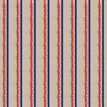 Scrapbook Customs - Military Collection - 12 x 12 Paper - Coast Guard Stripes