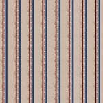 Scrapbook Customs - Military Collection - 12 x 12 Paper - Navy Stripes