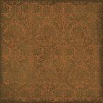 Scrapbook Customs - Travel Collection - 12 x 12 Paper - Patchwork - Wallpaper