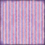 Scrapbook Customs - Religious Collection - 12 x 12 Paper - Bat Mitzvah Stripe