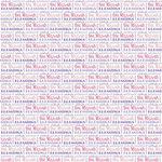 Scrapbook Customs - Religious Collection - 12 x 12 Paper - Bat Mitzvah Text