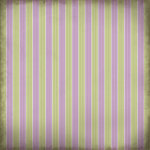 Scrapbook Customs - Religious Collection - 12 x 12 Paper - First Communion Stripe