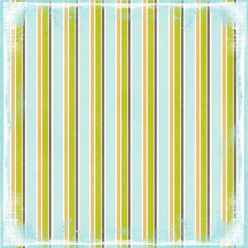 Scrapbook Customs - Religious Collection - 12 x 12 Paper - God Son Stripe