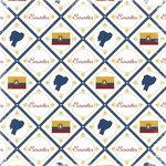 Scrapbook Customs - World Collection - Ecuador - 12 x 12 Paper - Discover
