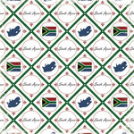 Scrapbook Customs - World Collection - South Africa - 12 x 12 Paper - Discover