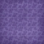 Scrapbook Customs - Travel Collection - 12 x 12 Paper - Vineyard - Grape Leaves - Purple