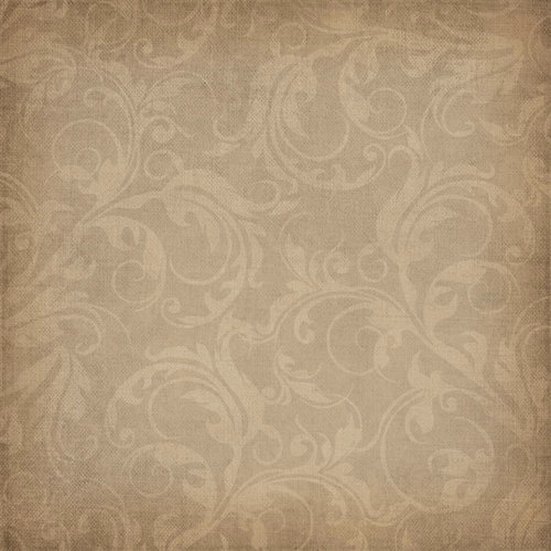 Scrapbook Customs - Travel Collection - 12 x 12 Paper - Vineyard - Swirls