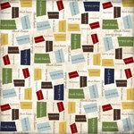 Scrapbook Customs - United States Collection - North Dakota - 12 x 12 Paper - State Shape