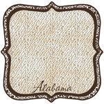 Scrapbook Customs - United States Collection - Alabama - 12 x 12 Die Cut Paper - State Shape