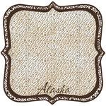 Scrapbook Customs - United States Collection - Alaska - 12 x 12 Die Cut Paper - State Shape